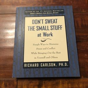 Other - Book: Don't Sweat the Small Stuff - At Work